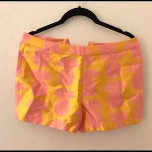 Tops - Julie Brown NYC Pink Pineapple Shell Tank & shorts